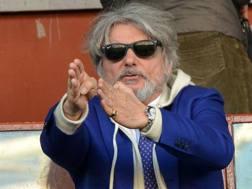Massimo Ferrero: non è più il presidente della Samp. Getty Images