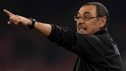 Maurizio Sarri, 58 anni, allenatore del Napoli. LaPresse
