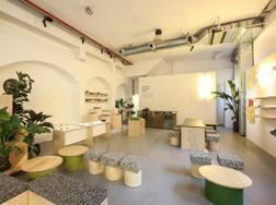 Uno degli ambienti curati da Mini al Fuori Salone del Mobile