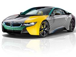 La BMW i8 MemphisStyle