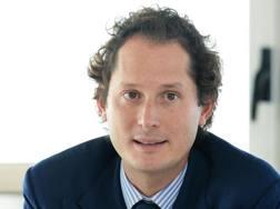 John Elkann, presidente di Exor. Ansa