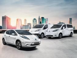 La gamma di veicoli Nissan