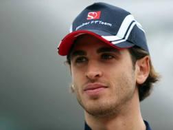 Antonio Giovinazzi, 23 anni, correrà in Cina per la Sauber al posto di Wehrlein. Lapresse
