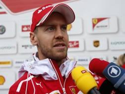 Sebastian Vettel, quttro titoli iridati in F1. Epa