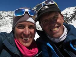 Tamara Lunger e Simone Moro (30 e 49) ancora una impresa assieme