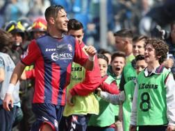 Diego Falcinelli, 25 anni, 11 gol in campionato. Getty