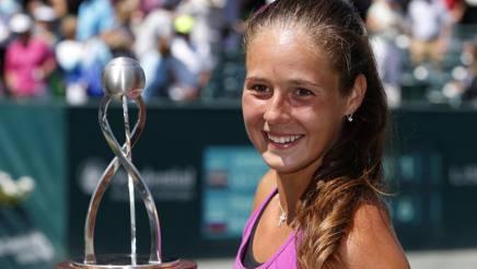 Daria Kasatkina, 19 anni, primo titolo in carriera. Ap