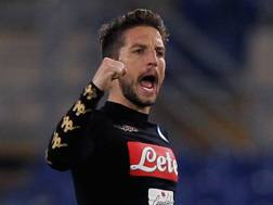 Dries Mertens, 29 anni, attaccante belga del Napoli. Getty Images