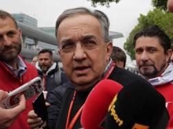 Sergio Marchionne, presidente della Ferrari. Lapresse