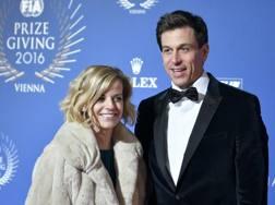 Toto Wolff con la moglie Susie