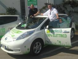 La Nissan LEAF protagonista all'Eco Rally di Sanremo
