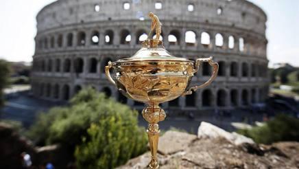 La Ryder Cup a Roma. Epa