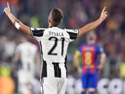 Paulo Dybala, 23 anni, seconda stagione con la Juventus. Ansa