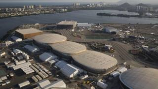 Una veduta aerea del Parco olimpico. Ap