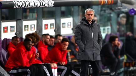 José Mourinho perplesso a Bruxelles. Getty Images