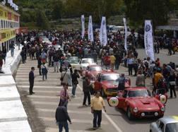 Sfilata di auto alla Targa Florio numero 100