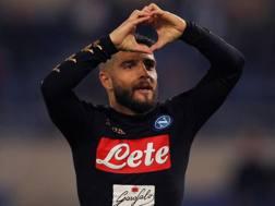 Lorenzo Insigne, 26 anni a giugno, cresciuto nel settore giovanile del Napoli. Getty Images