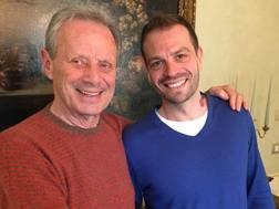 Maurizio Zamparini e Paul Baccaglini. Ansa