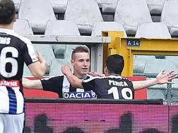 Jakub Jankto festeggiato dopo un gol. Ansa