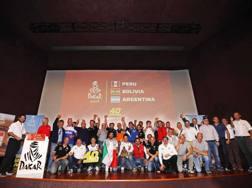 La presentazione della Dakar a Milano