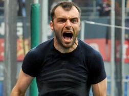Goran Pandev, 33 anni. Ansa