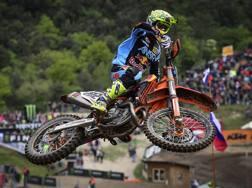 Antonio Cairoli in azione in Trentino