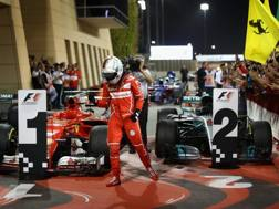 Sebastian Vettel, seconda vittoria del 2017. Getty