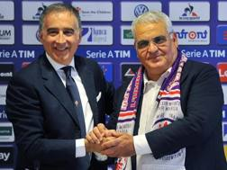 Mario Cognigni e Pantaleo Corvino. Ansa
