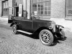 La prima Volvo: la ÖV4 del 1927