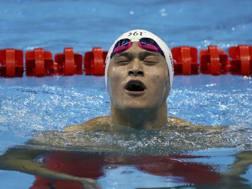 Sun Yang. Reuters