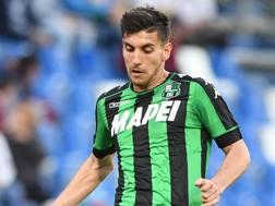 Lorenzo Pellegrini, centrocampista del Sassuolo. LaPresse