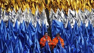Leicester Stadium, spettacolo sugli spalti