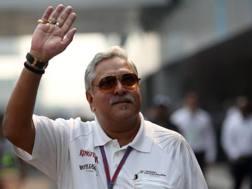Vijay Mallya, team principal della Force India. Reuters
