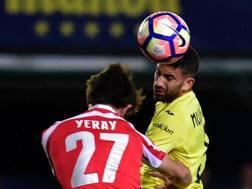 Mateo Musacchio è un argentino con passaporto italiano, difensore del Villarreal e della nazionale argentina. Afp