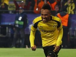 Pierre Aubameyang, 27 anni, attaccante del Borussia Dortmund. Reuters