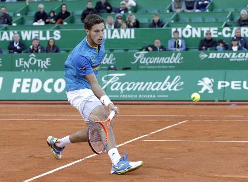 Pablo Carreno Busta nel match con Djokovic AP