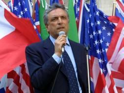 Arturo Diaconale, 71 anni, responsabile della comunicazione della Lazio. LaPresse
