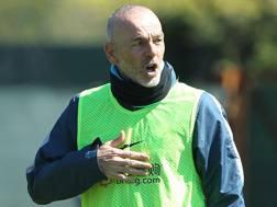 Stefano Pioli, prima stagione sulla panchina dell'Inter. Getty