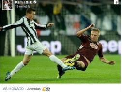 Il post su Facebook di Kamil Glik