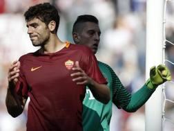 Federico Fazio, 30 anni, prima stagione alla Roma. Ansa