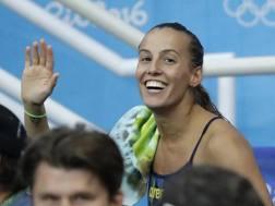 Tania Cagnotto, 31 anni, argento a Rio nel trampolino sincro e bronzo da3 metri