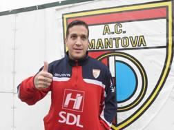 Felipe Sodinha, attaccante del Mantova. LAPRESSE