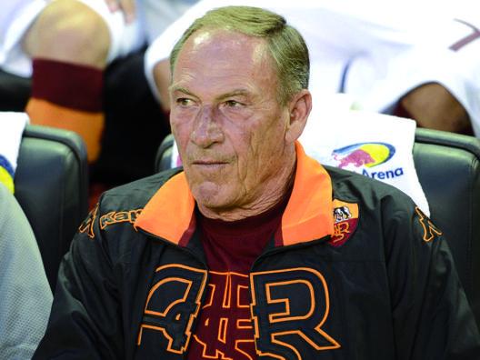 Zdenek Zeman, 69 anni, allenatore del Pescara. Ansa