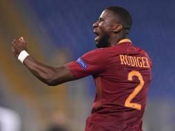 Antonio Rüdiger, 24 anni, difensore tedesco della Roma. Getty