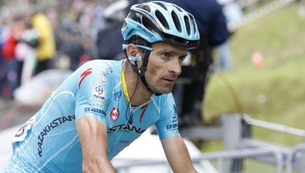 Michele Scarponi, deceduto a 37 anni. Lapresse