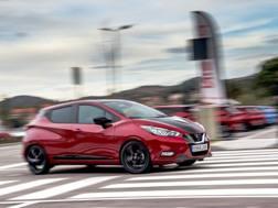 La Nissan Micra ha un motore 1.0 che va bene per i neopatentati