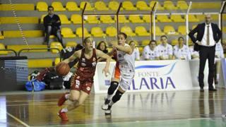 Le sorelle Francesca (Lucca) e Caterina Dotto, avversarie in campo
