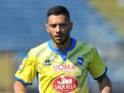 Gianluca Caprari, attaccante del Pescara. LaPresse