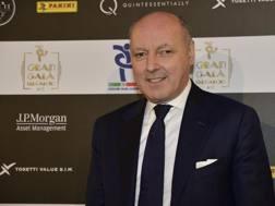 Beppe Marotta, a.d. della Juventus. Ansa