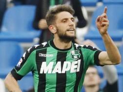 Domenico Berardi, attaccante del Sassuolo. Ansa